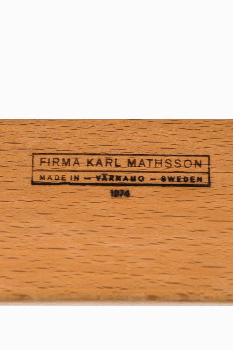 Bruno Mathsson Pernilla Lounge Chair by Karl Mathsson in Sweden 8