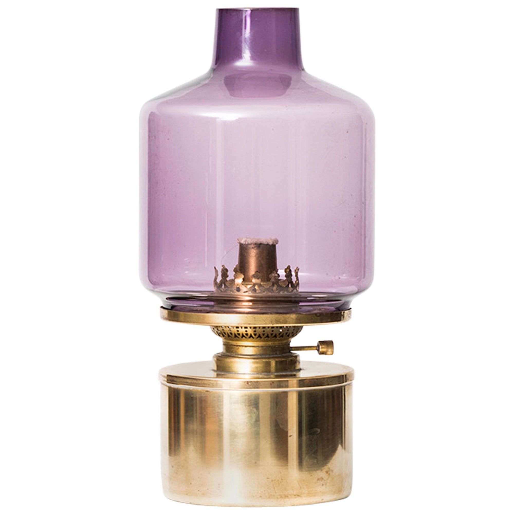 Hans-Agne Jakobsson Oil or Kerosene Table Lamp Model L-47