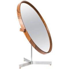 Uno & Östen Kristiansson Table Mirror by Luxus in Vittsjö, Sweden