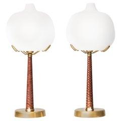 Hans Bergström table lamps model 700 by Ateljé Lyktan in Sweden