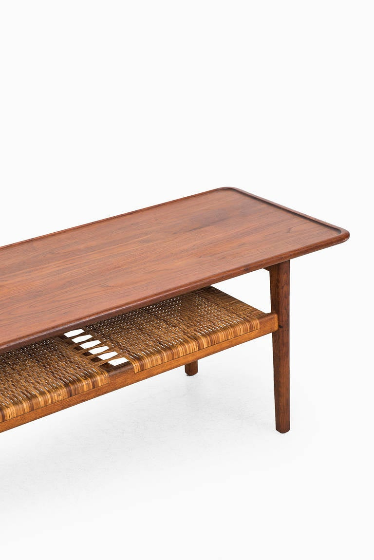 Hans Wegner Coffee Table Produced By Andreas Tuck In Denmark At 1stdibs