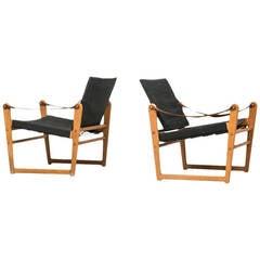 Bengt Ruda Easy Chairs Model Cikada by Ikea in Sweden