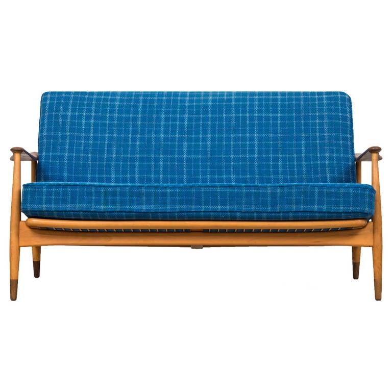 Arne Vodder Sofa By France Daverkosen In Denmark For