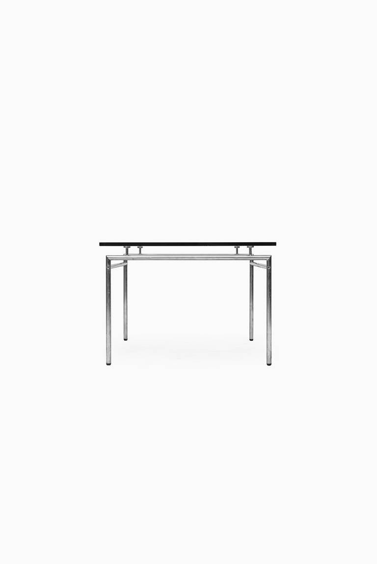 Minimalist low coffee table in chrome and glass for sale for Minimalist coffee table