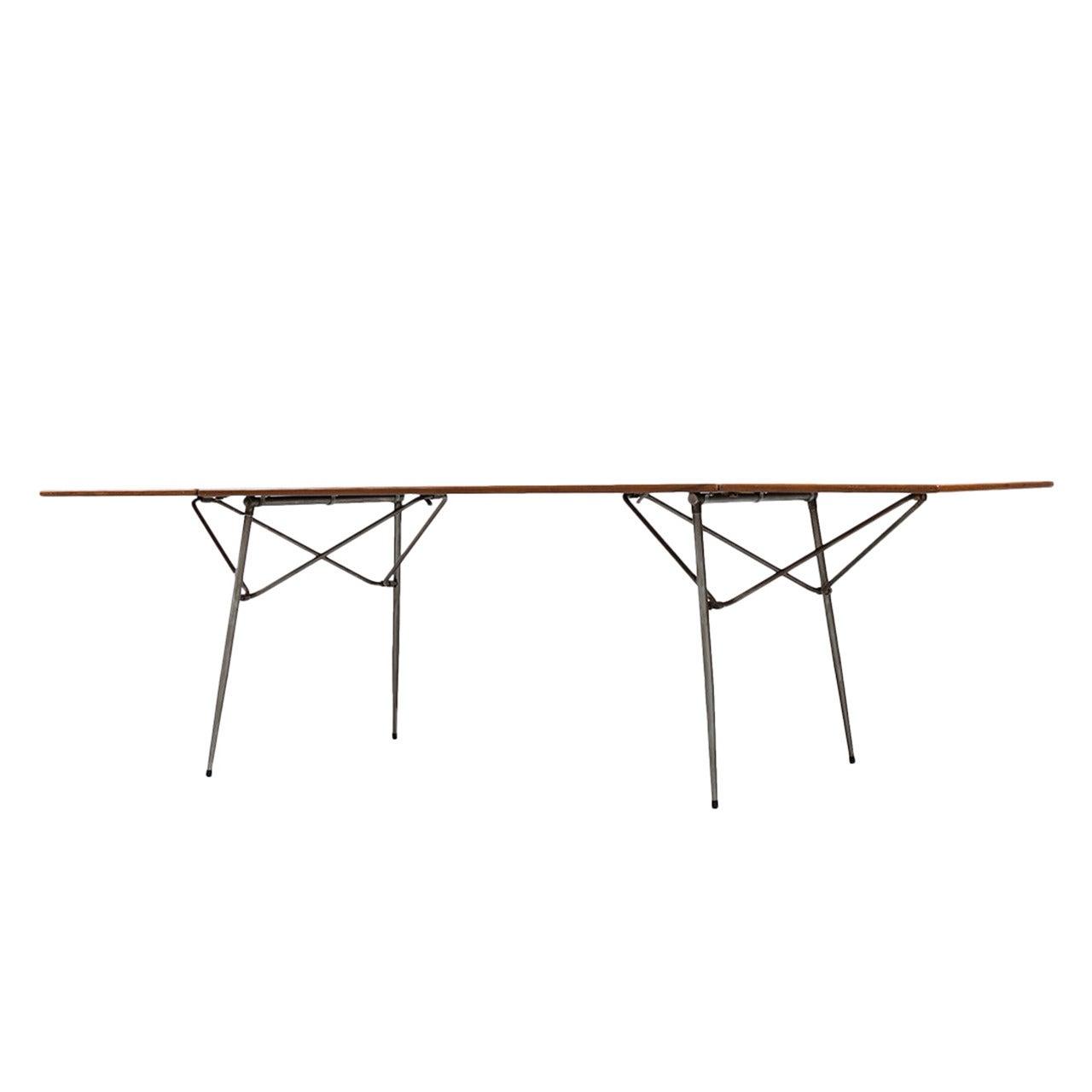 Børge Mogensen Dining Table or Desk by Søborg Møbler in Denmark
