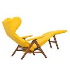 H.W Klein reclining chair by Bramin møbler in Denmark