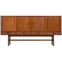 Ib Kofod-Larsen Sideboard in Rosewood by Faarup Møbelfabrik in Denmark