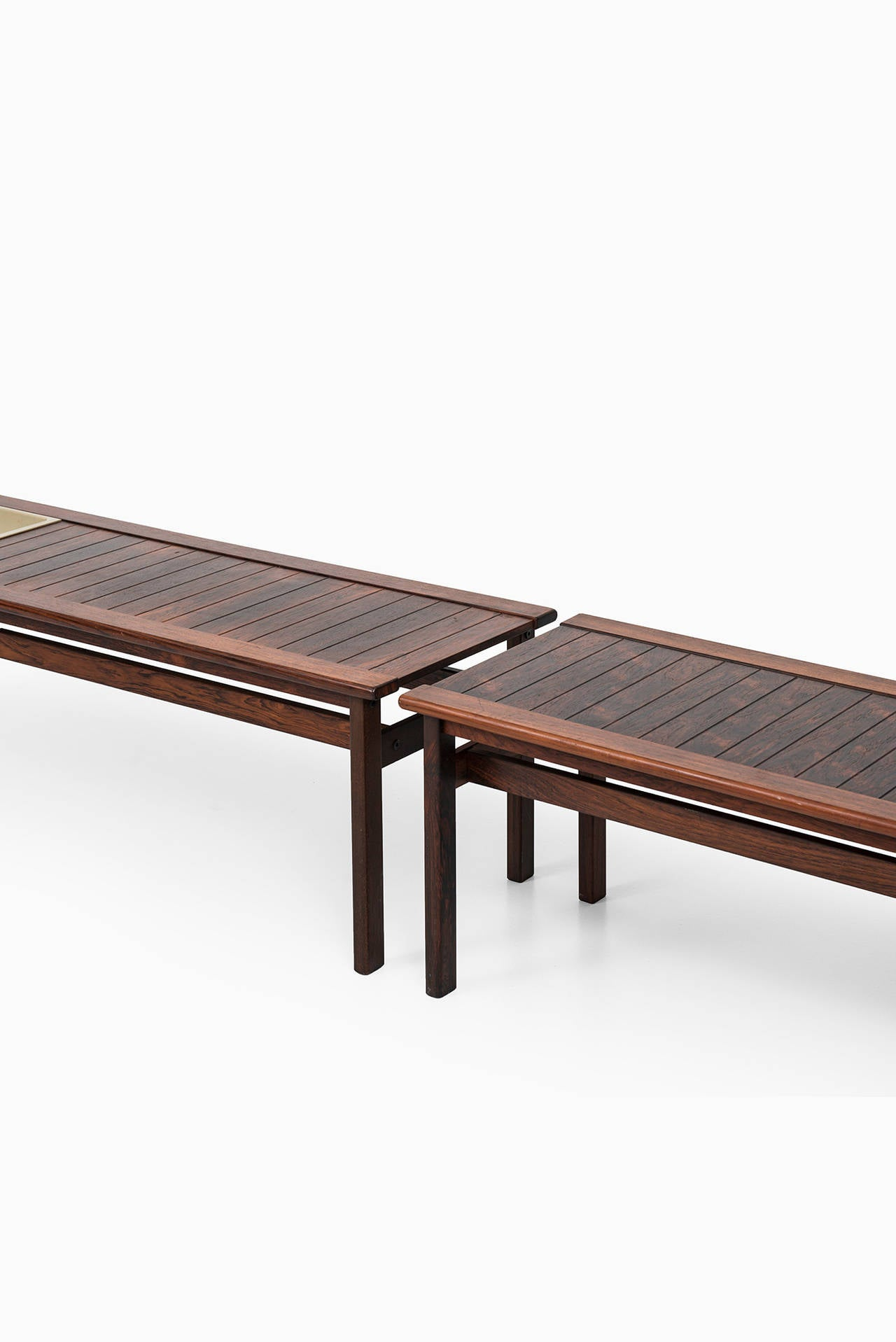 Rosewood Benches With Flower Box By Averskogs In Sweden 3