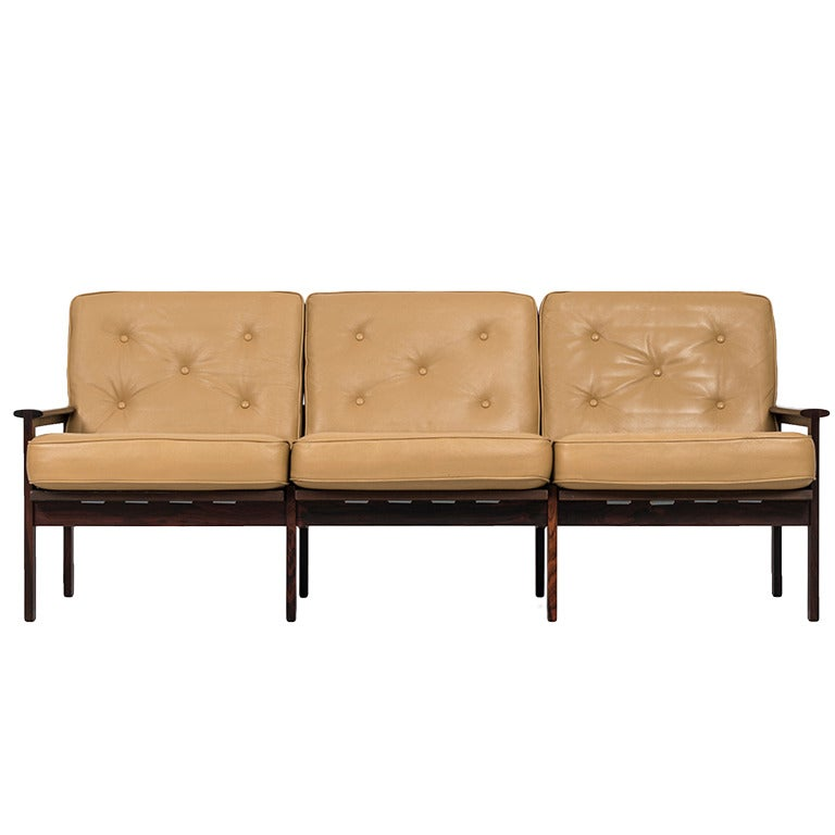 Illum Wikkelsø sofa model Capella by Niels Eilersen in Denmark