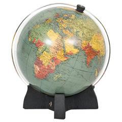 1930's terrestrial georama globe by Philip & Sons