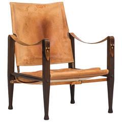 Kaare Klint safari chair by Rud. Rasmussen in Denmark