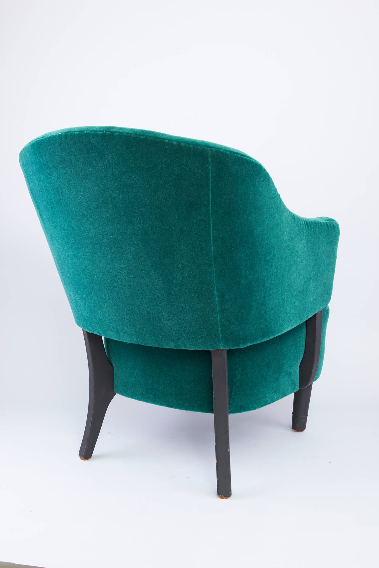 """mobler norge  : Mid-Century Armchair, """"Klock Mobler"""" Norway For Sale at 1stdibs"""
