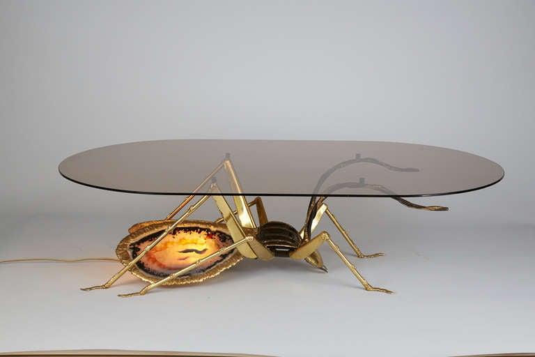 Henri Fernandez Beetle Coffee Table For Atelier Duval Brasseur At 1stdibs