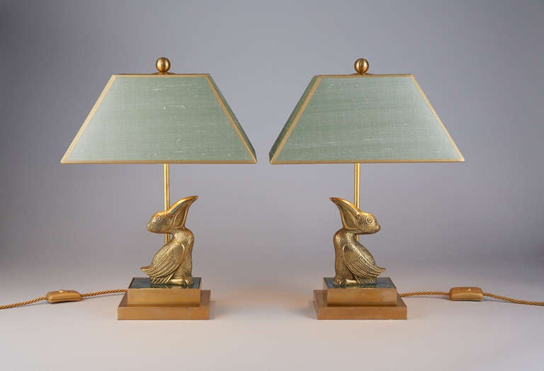 This Pair Of Animals Table Lamps Is No Longer Available