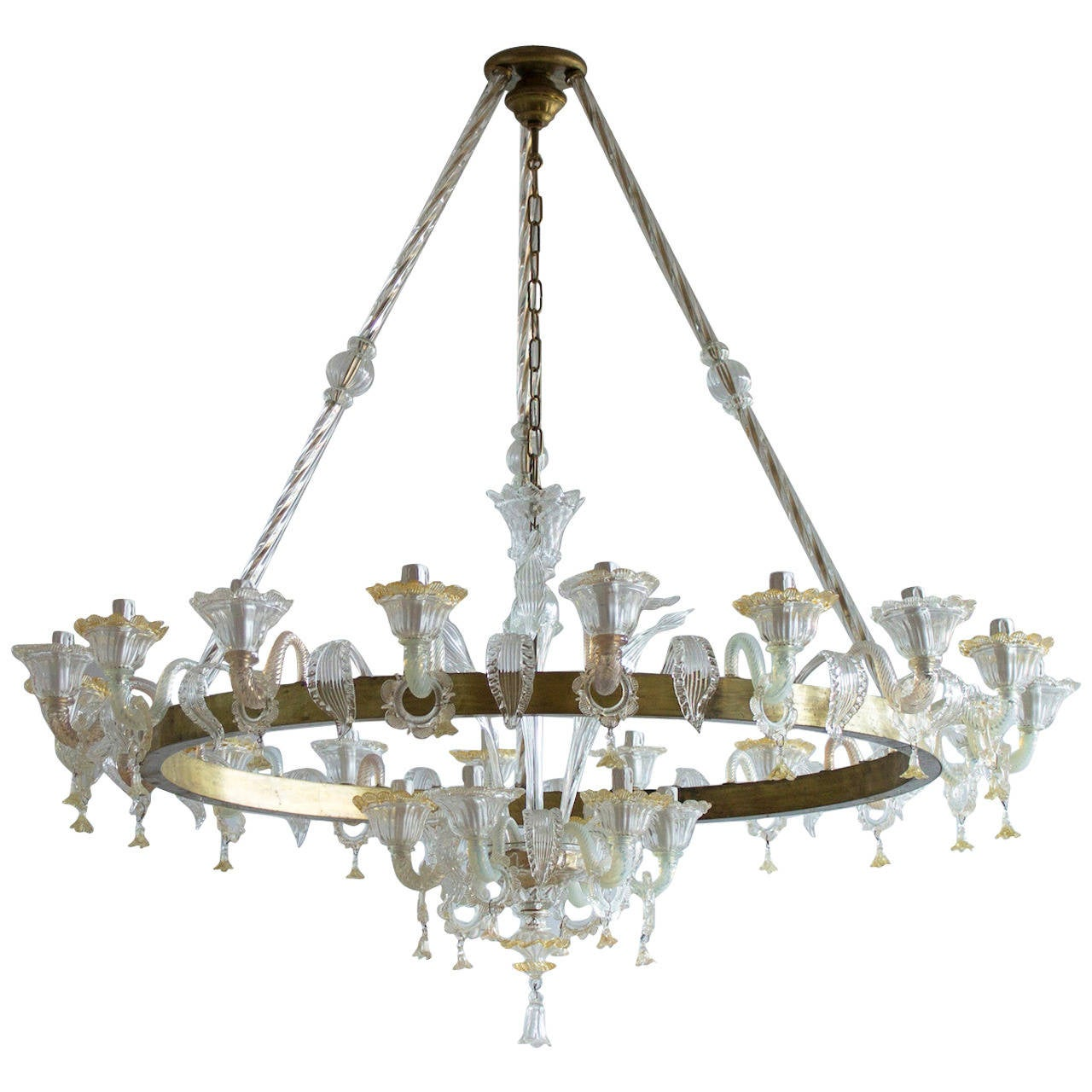 Italian mid century chandelier circa from 1950s for sale at 1stdibs - Circa lighting chandeliers ...