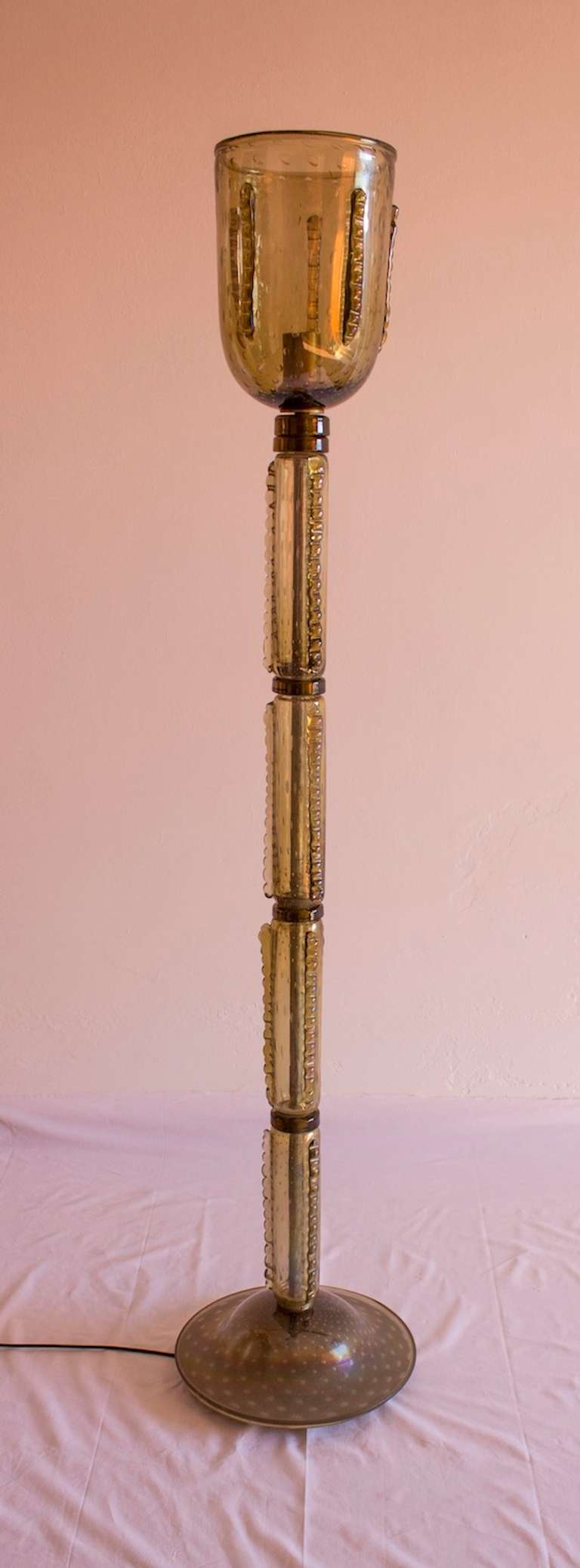Murano floor lamp circa 1970s at 1stdibs for 1970s floor lamps