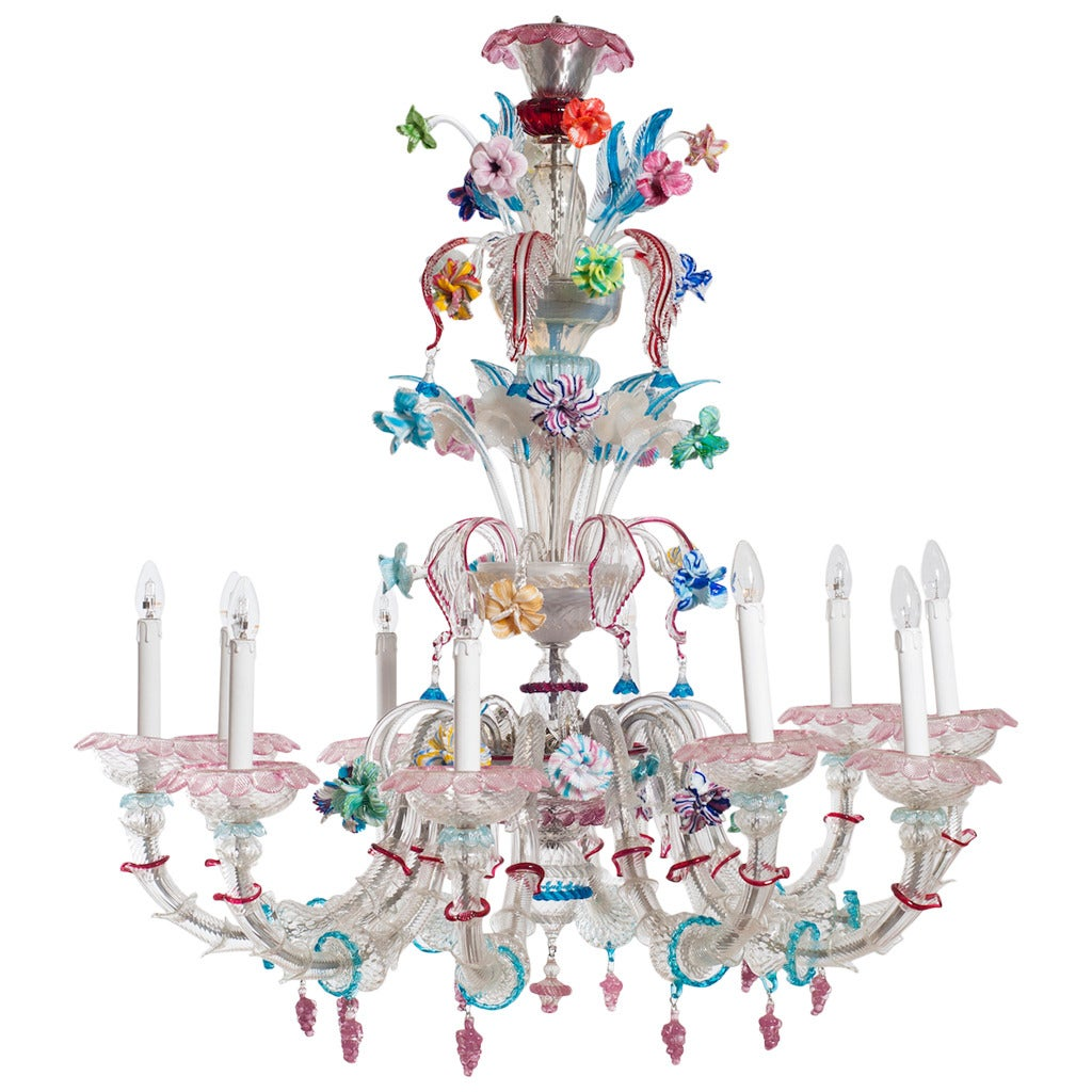 Chandelier Italian: Midcentury Italian Chandelier Attributed to Galliano Ferro, circa 1950s 1,Lighting