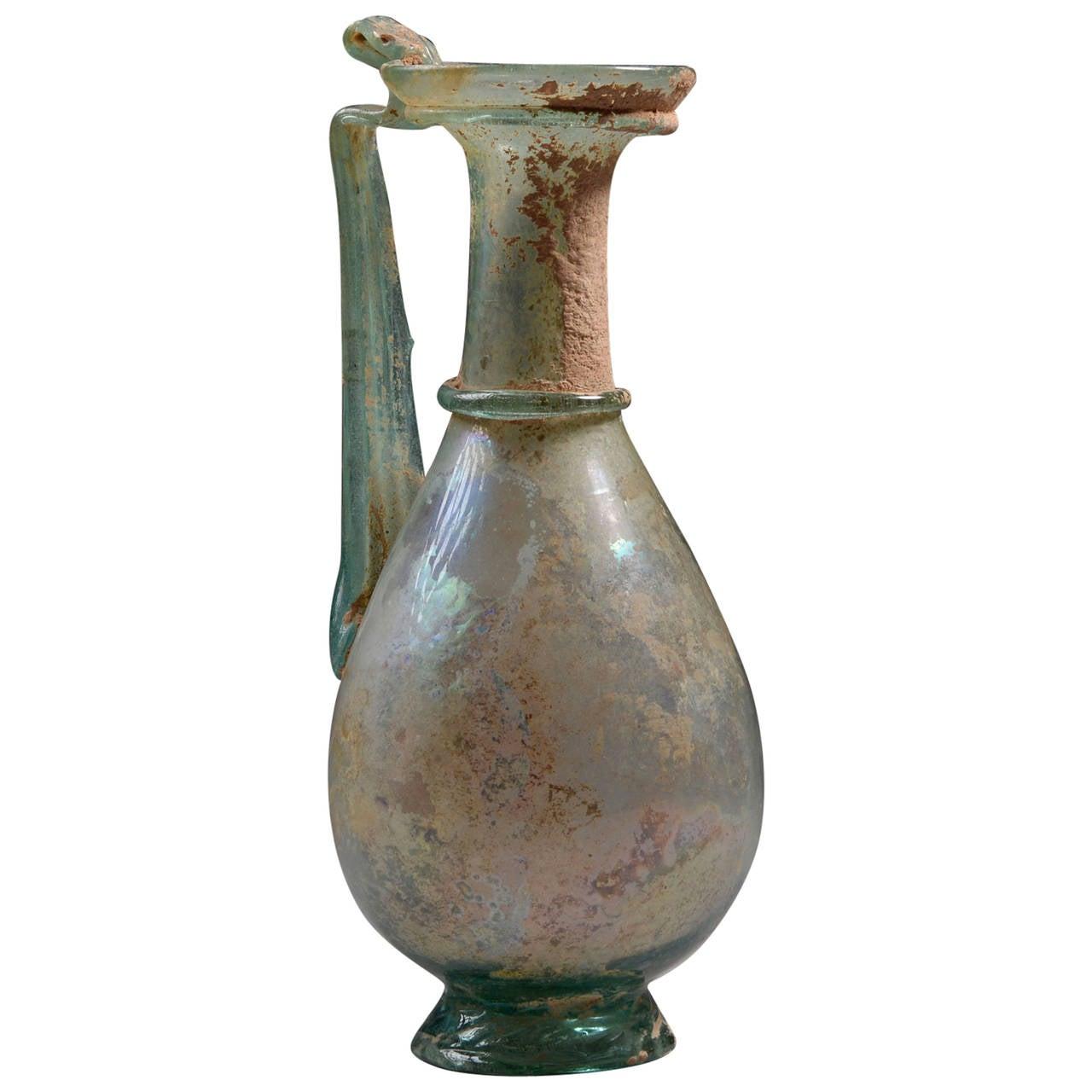 Elegant ancient roman green glass jug 2nd century ad for sale at elegant ancient roman green glass jug 2nd century ad for sale floridaeventfo Gallery