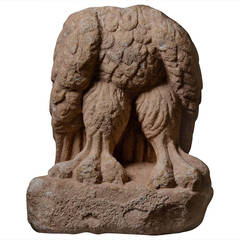 Large Ancient Roman Marble Sculpture of an Eagle, 100 AD