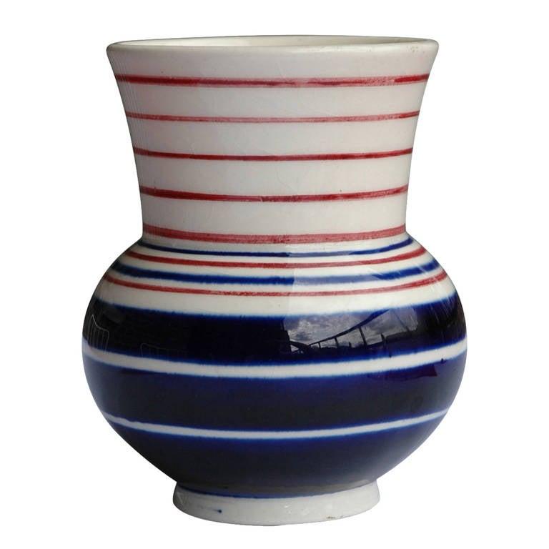 bauhaus vase by theodor bogler at 1stdibs. Black Bedroom Furniture Sets. Home Design Ideas