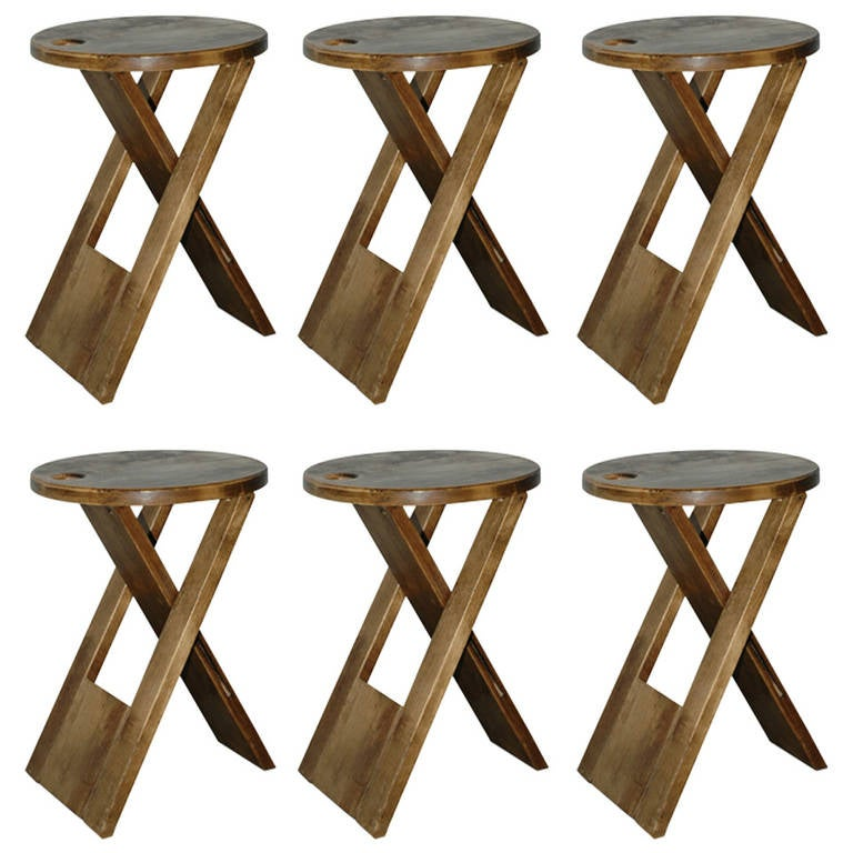 sc 1 st  1stDibs & TS Folding Stool by Roger Tallon at 1stdibs islam-shia.org