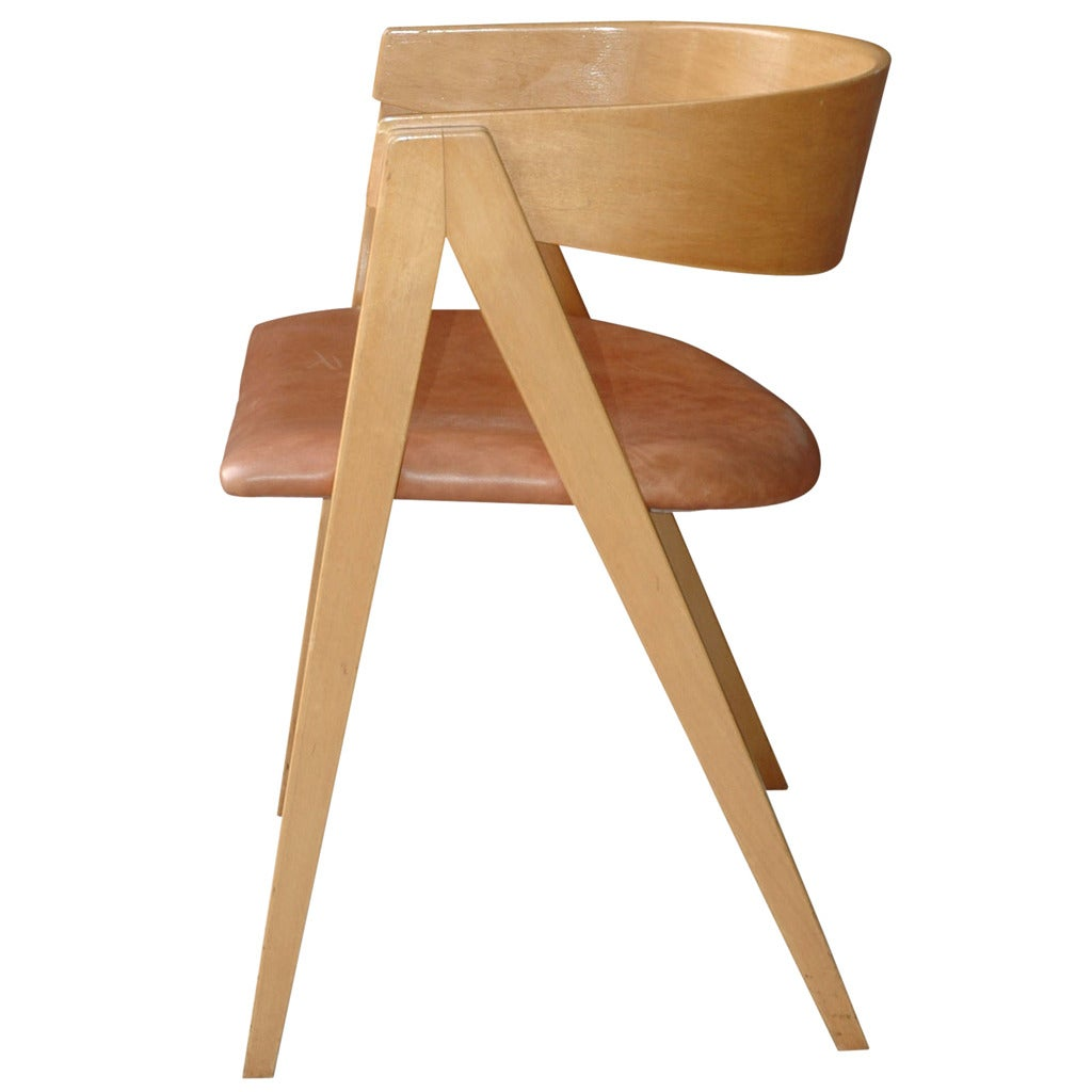 Compass Chair By Allan Gould At 1stdibs