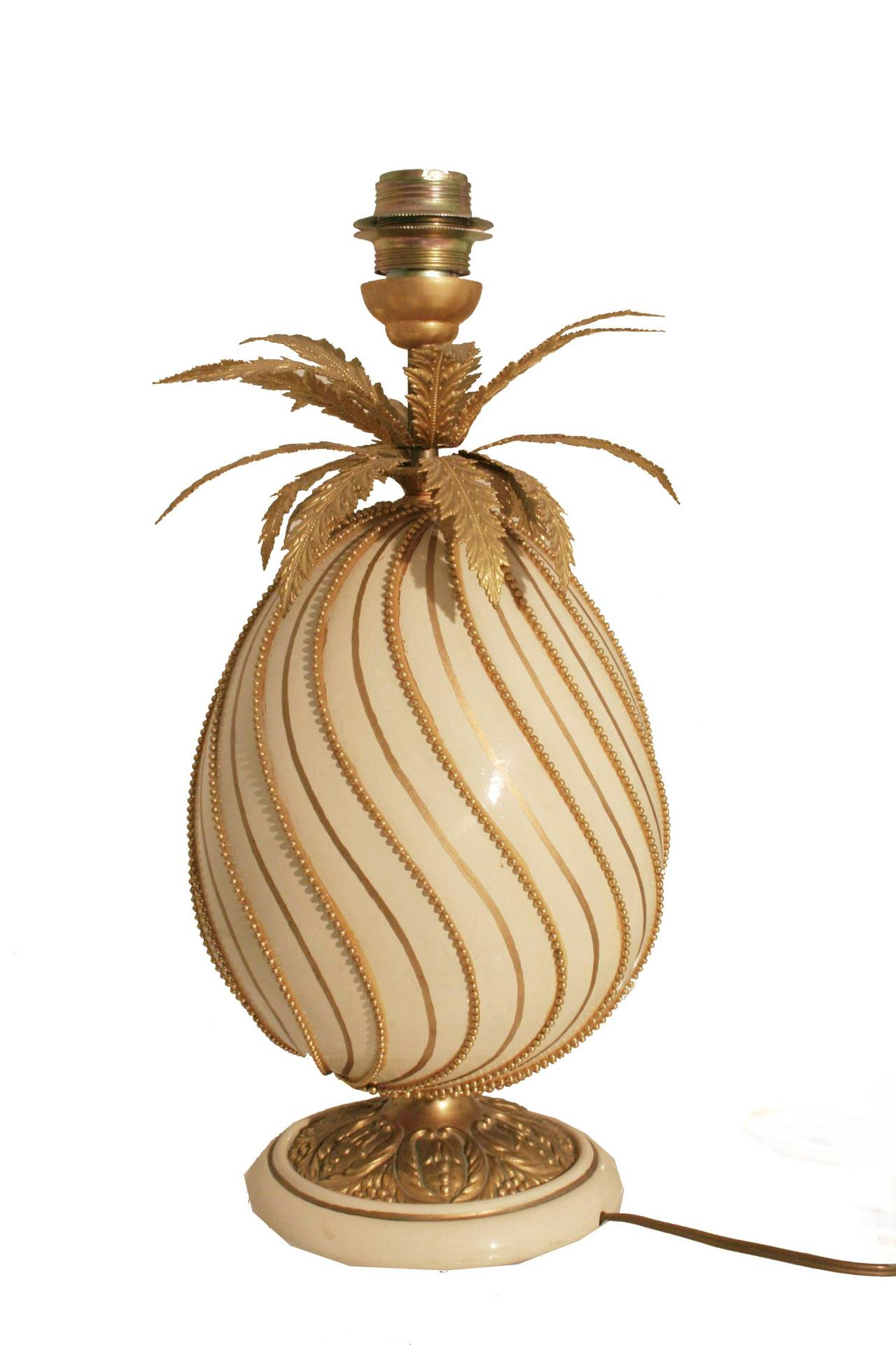 Pineapple Lamp 1970s France For Sale At 1stdibs
