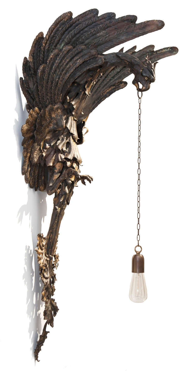 Wall Sconces Gothic : Neo-Gothic Sconce For Sale at 1stdibs