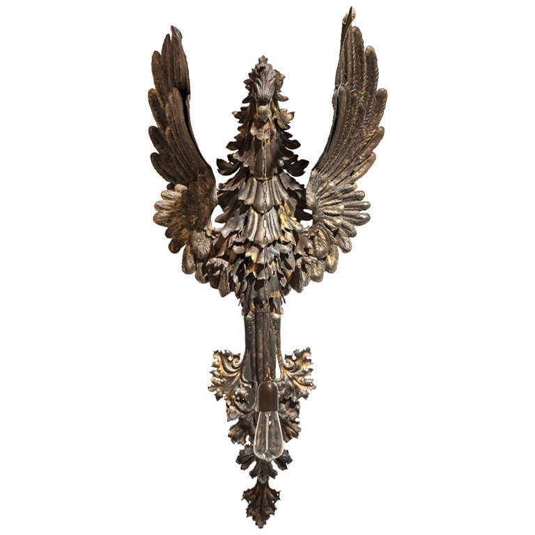 Gothic Wall Sconces: Neo-Gothic Sconce For Sale At 1stdibs