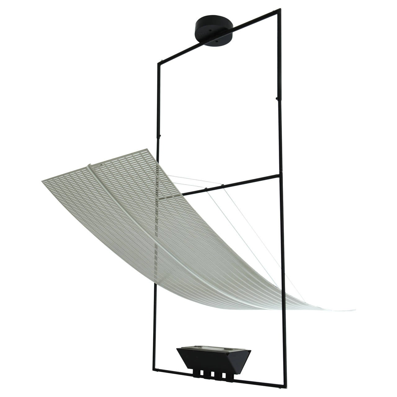Zefiro Suspension by Artemide Mario Botta Edition, 1980s For Sale