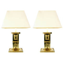 Pair of Table Lamps by Lumica