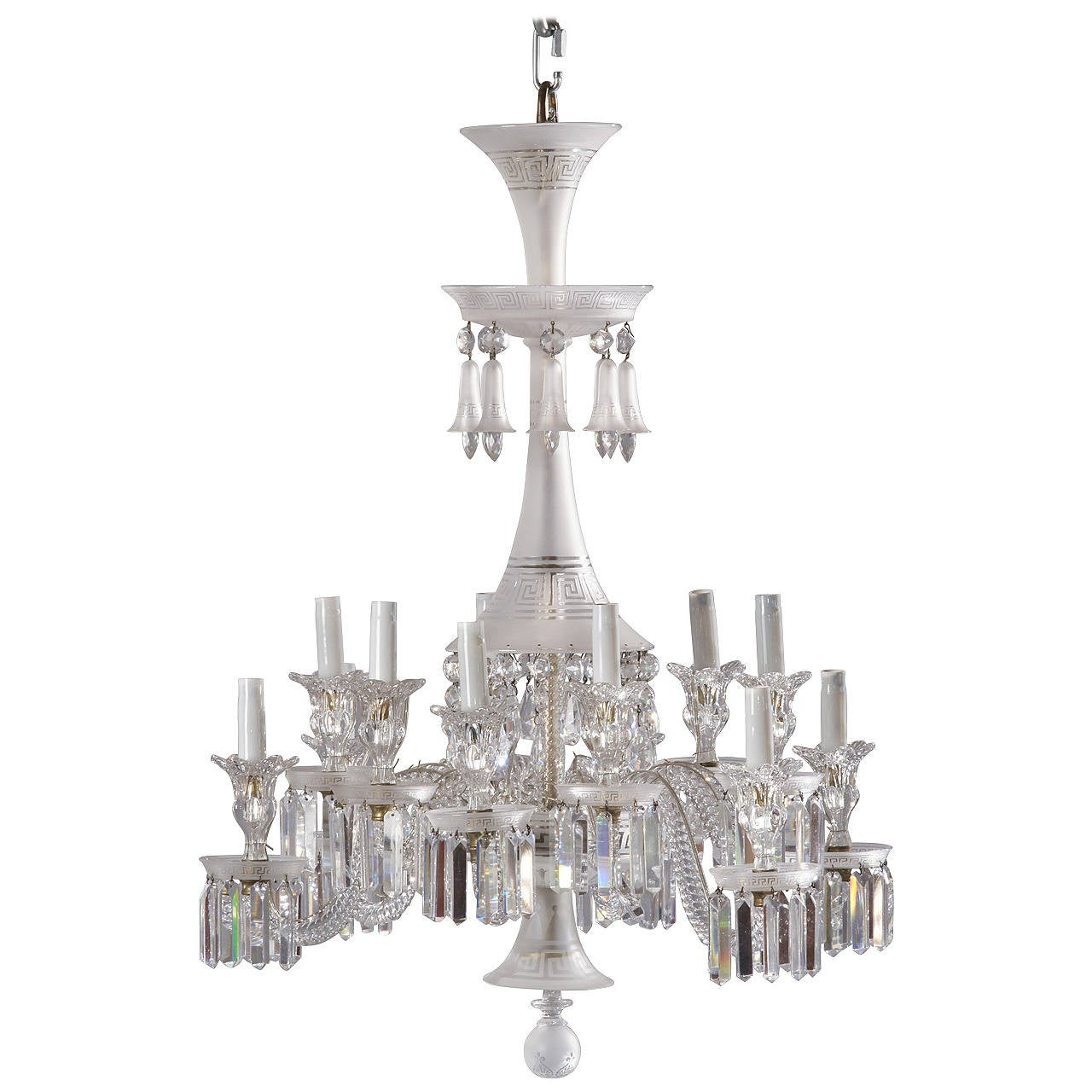 Neoclassical Chandelier by Baccarat