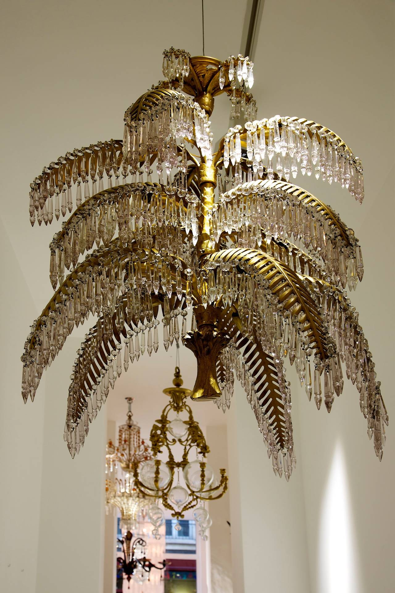 Joseph hoffmann and bakalowitz palm tree chandelier for sale at 1stdibs joseph hoffmann and bakalowitz palm tree chandelier bibliography model shown in the exhi aloadofball