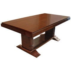 Rosewood Art Deco Dining Table
