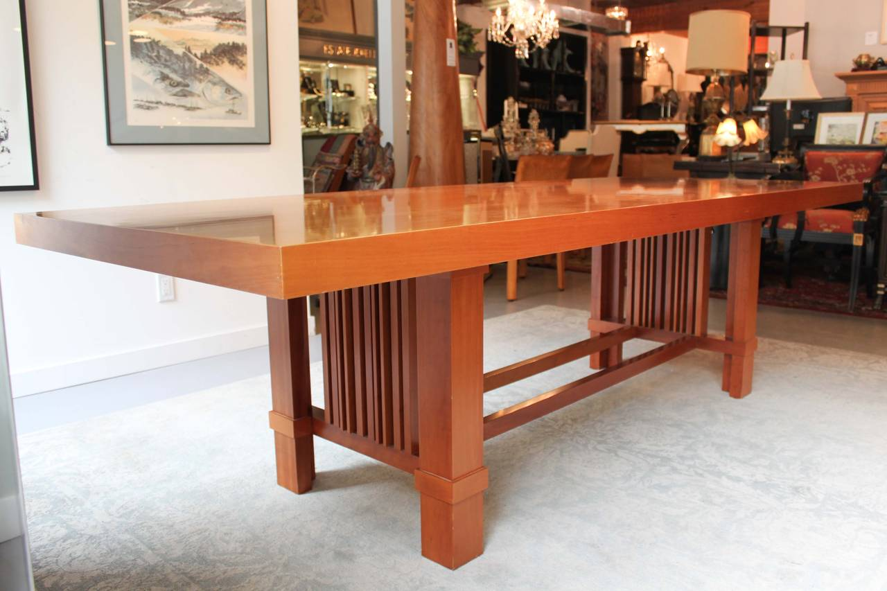 Taliesin 2 Dining Table By The Late Frank Lloyd Wright Original Design