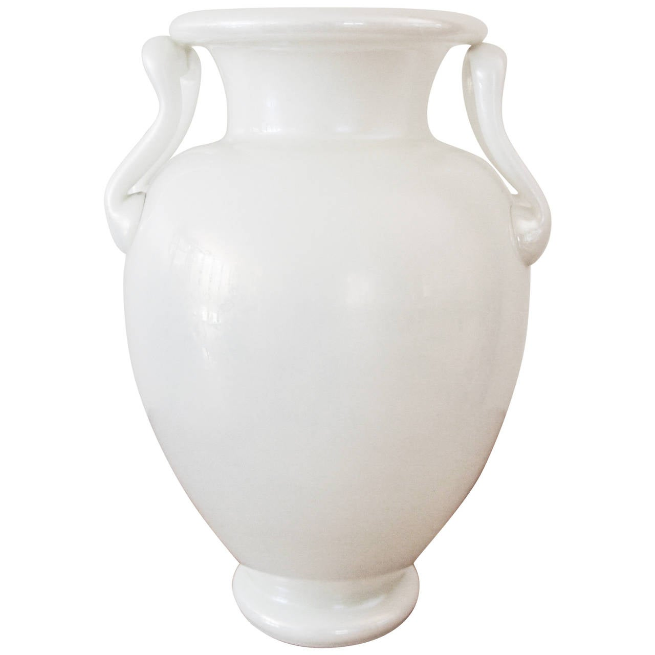 """Ivrene"" Glass Vase by Frederick Carder for Steuben"