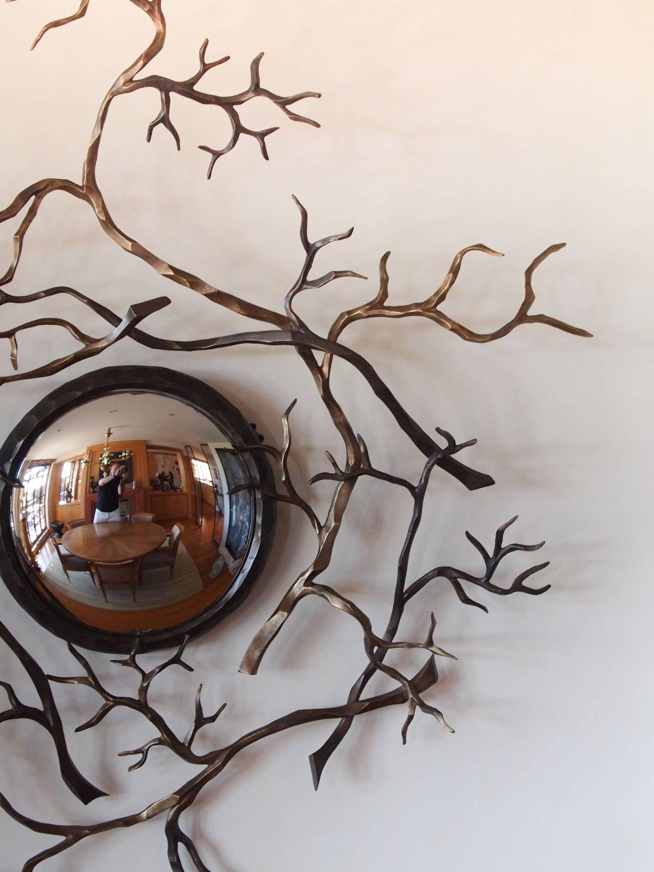 Bullseye mirror entitled