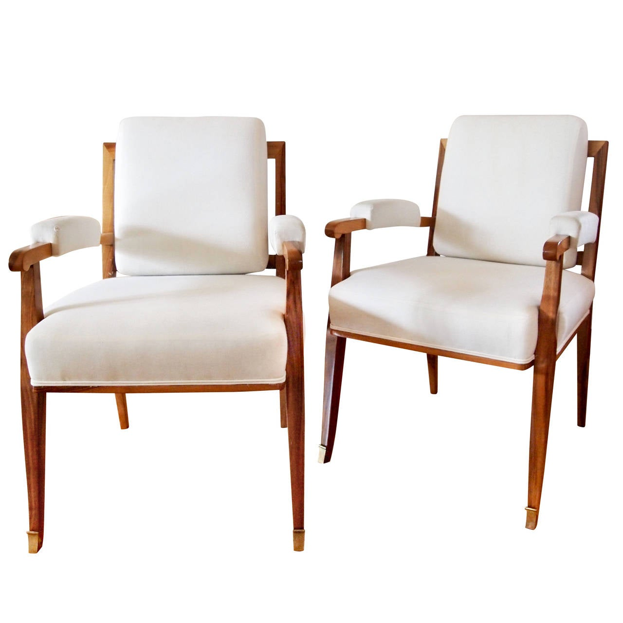 side chairs by jules leleu at 1stdibs