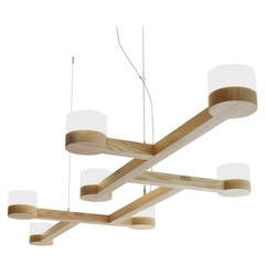 Adanac Seven-Light Chandelier, Ash