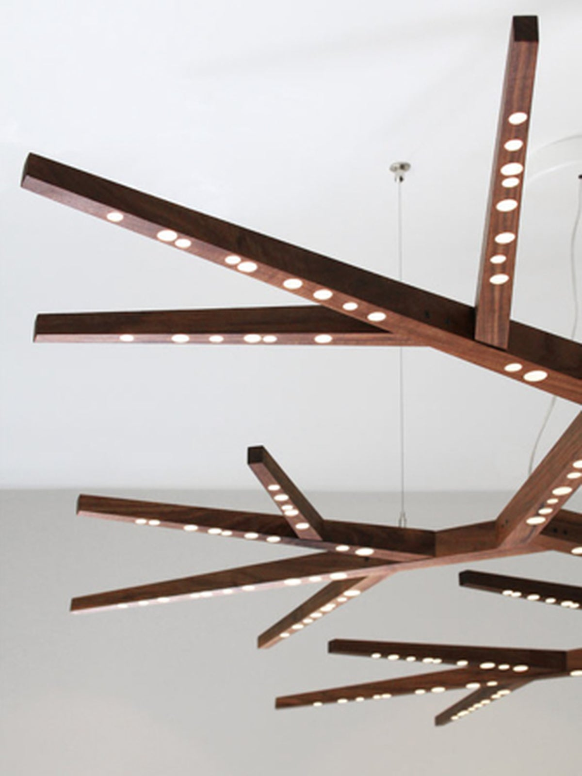 Canadian Myco 72 Ceiling Light Sculpture For Sale