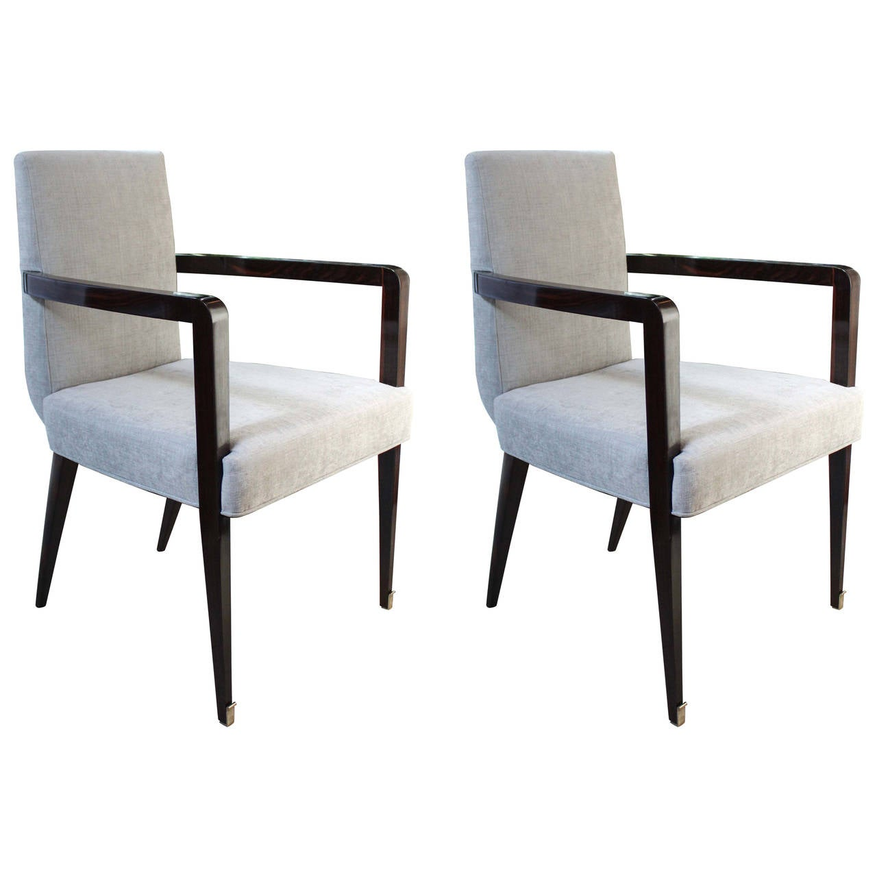 Pair of Jean Pascaud Armchairs