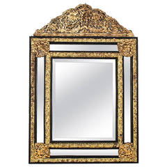 Large french giltwood mirror at 1stdibs for Baroque mirror canada