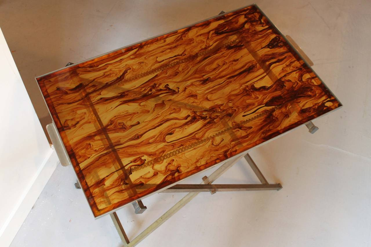 Mid Century Butler Tray And Stand Pair At 1stdibs