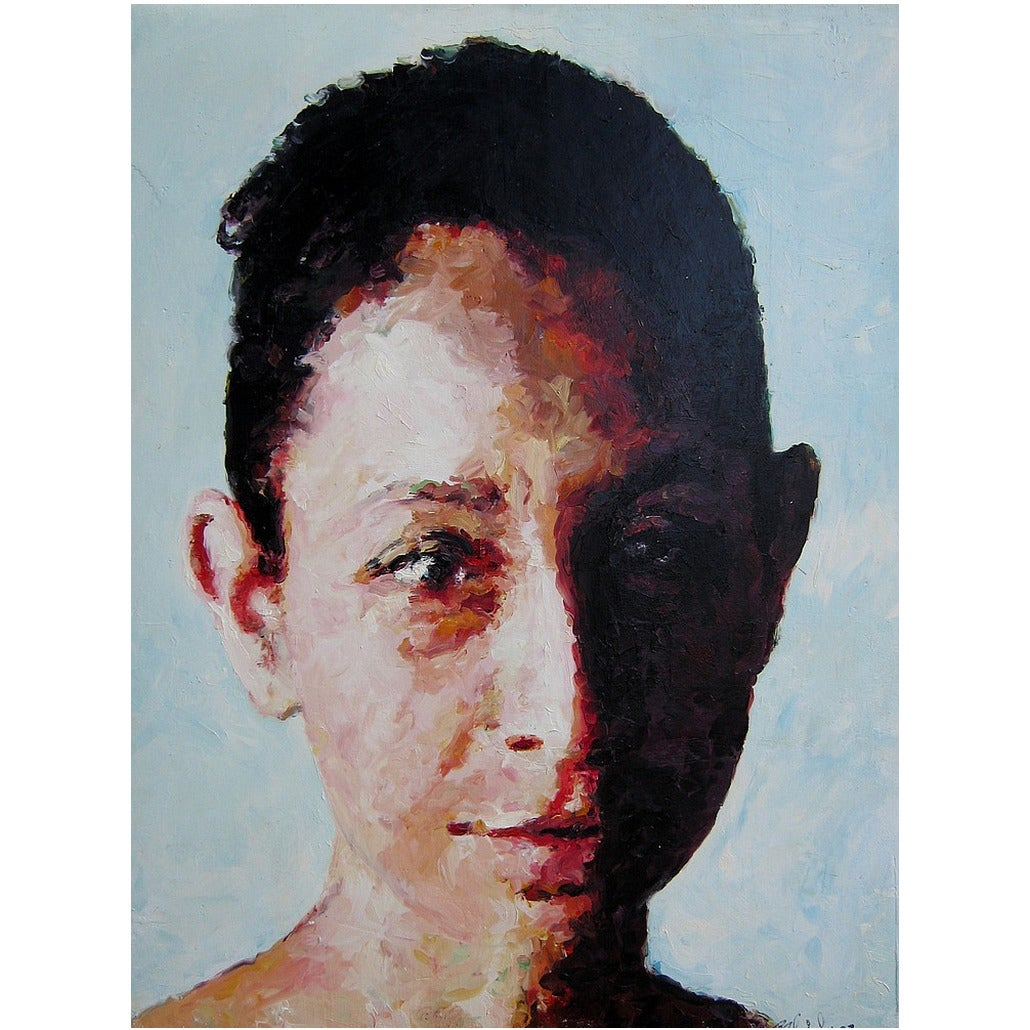 """Chilanga #1"" Painting by Mark Gaskin"