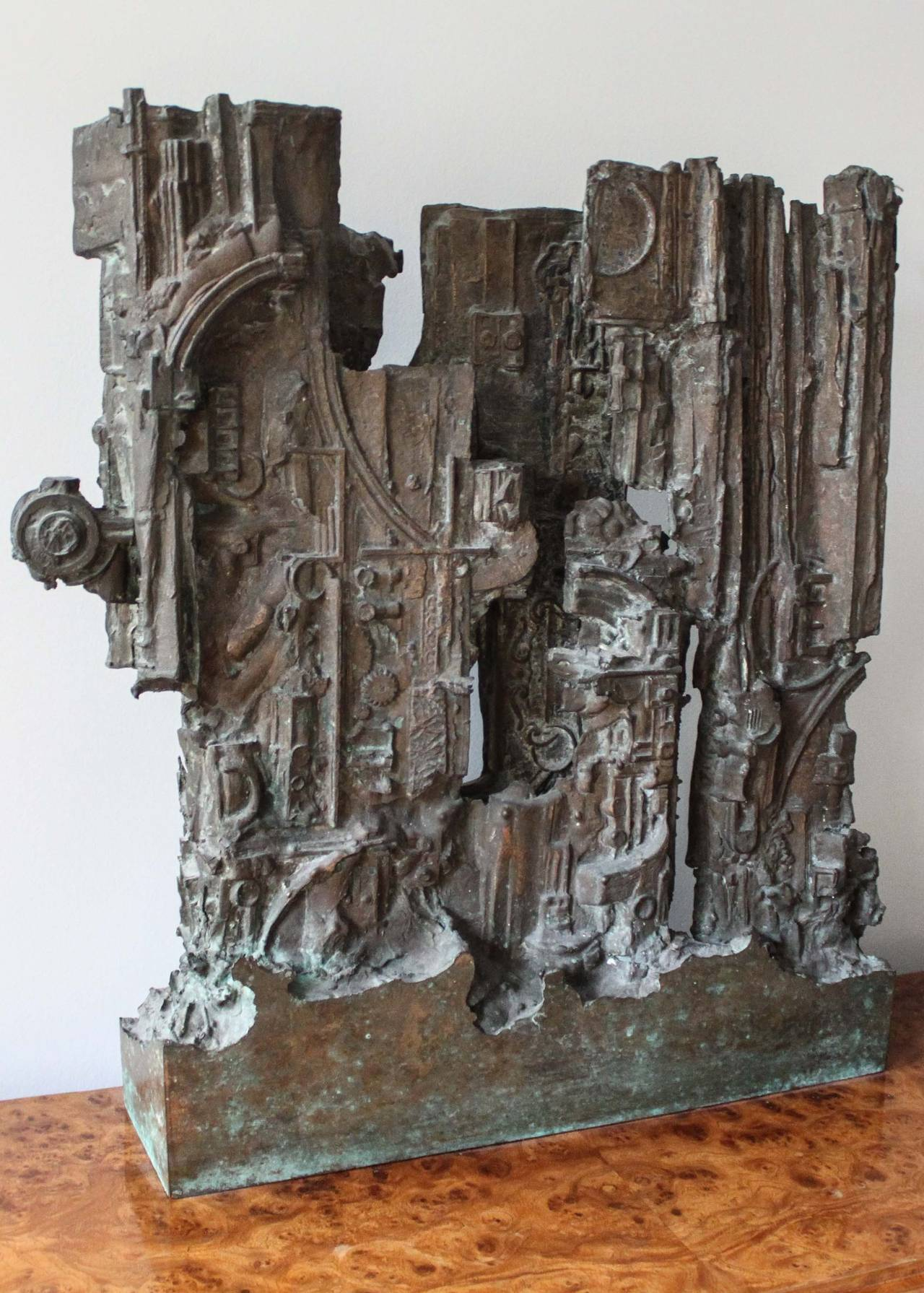 Brutalist Abstract Sculpture For Sale At 1stdibs