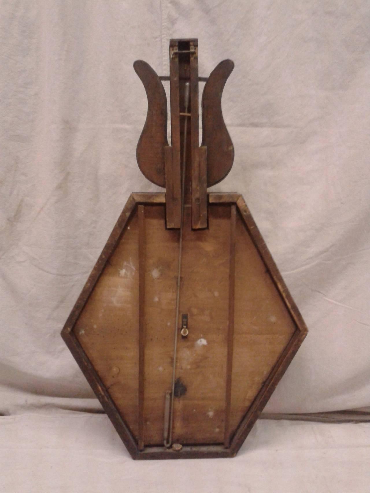 Belle Époque Murano Barometer For Sale