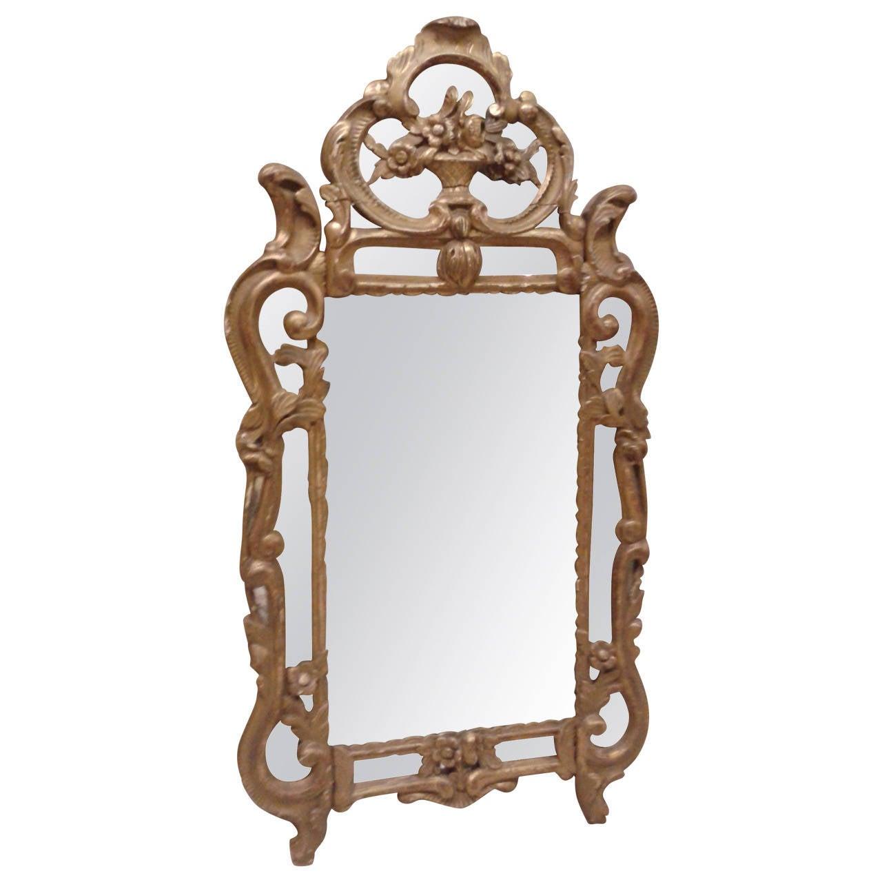19th Century, French Provençal  Mirror