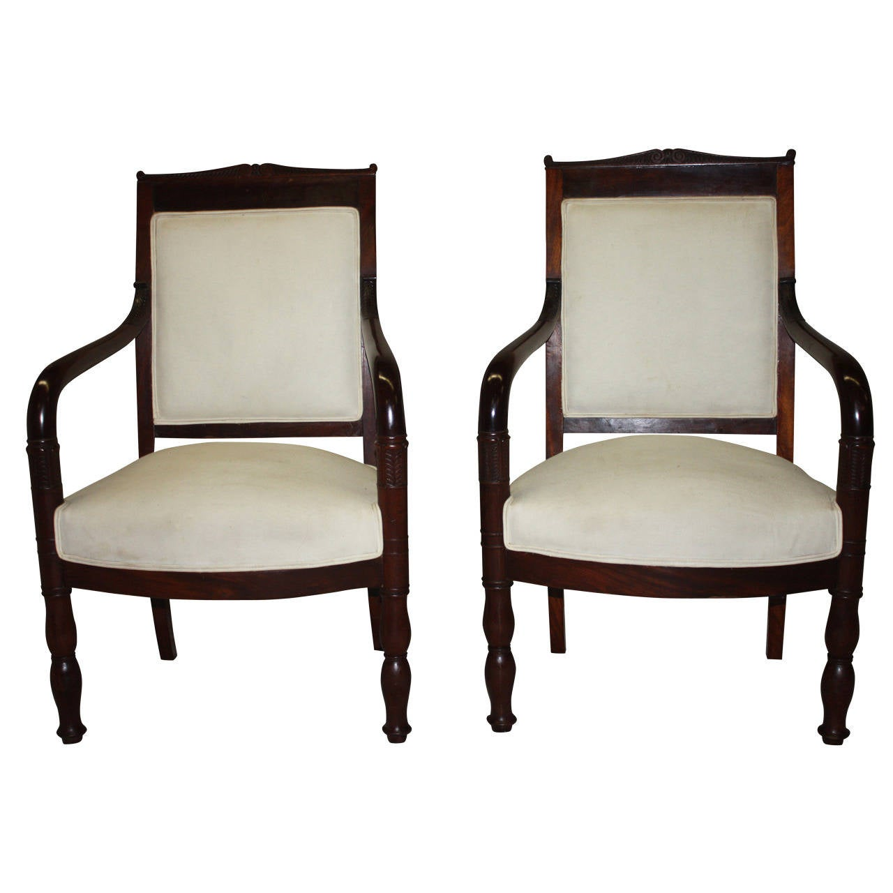 Early 19th Century Pair of Chairs For Sale