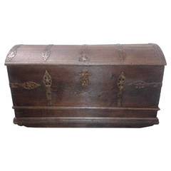 Superb 17th Century, French Trunk