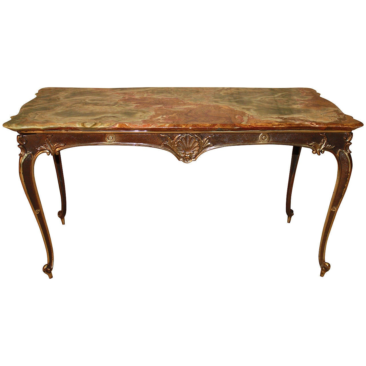 Beautiful Bronze Coffee Table For Sale At 1stdibs